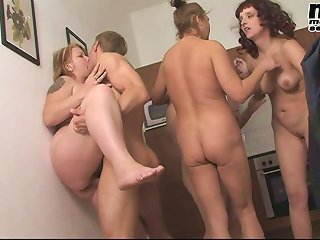 Horny mature sluts fucking at the sexparty