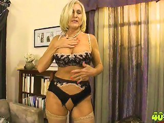 Katia And Her Birthday Presents: Only at 40SomethingMag.com - Amateur moms, older women, and sex with hot milfs inside!